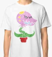 retro cartoon monster plant Classic T-Shirt