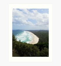 Straya Beach View Art Print