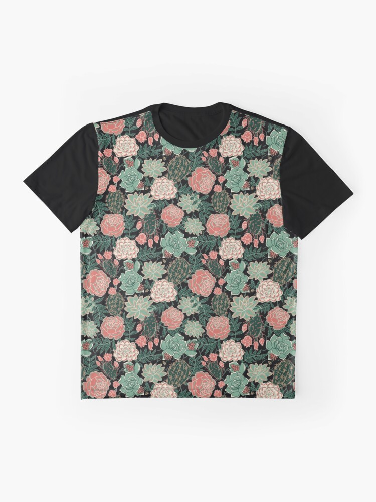 Alternate view of succulent Graphic T-Shirt