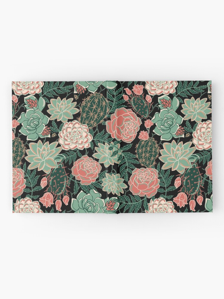 Alternate view of succulent Hardcover Journal