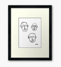 Masters. Framed Print