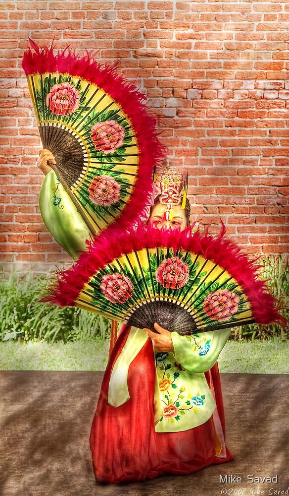 Fan Dance by Michael Savad