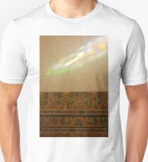 Colorful ray of light on a painted wall T-Shirt