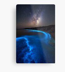 Milky Bioluminescence - 2nd Edition Metal Print