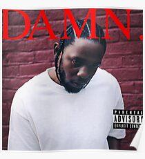 Kendrick Lamar - Damn Poster