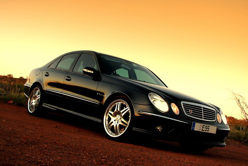 Mercedes E55 AMG by Ash Simmonds