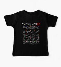 Calendar F1 2017 circuits Kids Clothes