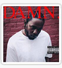 Kendrick Lamar - DAMN - Borderless, BEST QUALITY! Sticker