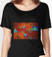 Fiery waves Women's Relaxed Fit T-Shirt