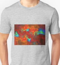 Fiery waves T-Shirt