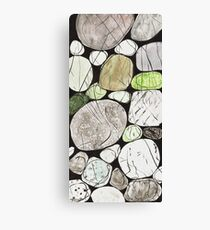 Classical Stones Pattern in High Format Canvas Print