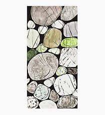 Classical Stones Pattern in High Format Photographic Print