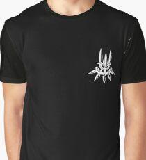 YoRHa - White Insignia - Corner print Graphic T-Shirt
