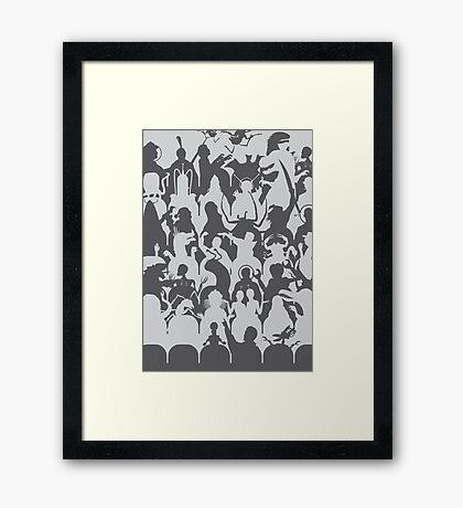 Mystery Theater 3K Framed Print