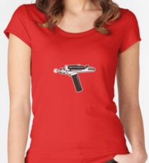 Phaser on Stun Women's Fitted Scoop T-Shirt