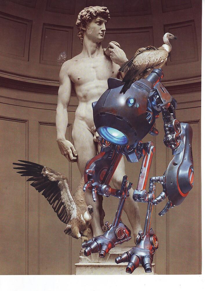When David met Cyborgz by atomikboy