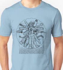 Vitruvian Machine (Black) T-Shirt