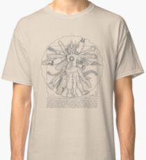 Vitruvian Machine (Gray) Classic T-Shirt