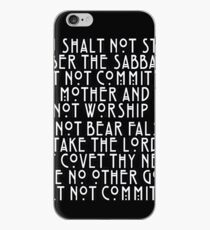 The Ten Commandments Killer iPhone Case