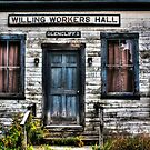 Willing Workers Enter Here by Wayne King