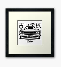 Nissan KPGC10 Skyline 2000 GT-R Framed Print