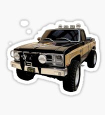 The Fall Guy - GMC Sierra Grande Sticker