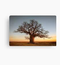 Farewell to the Day Canvas Print
