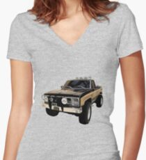 The Fall Guy - GMC Sierra Grande Fitted V-Neck T-Shirt