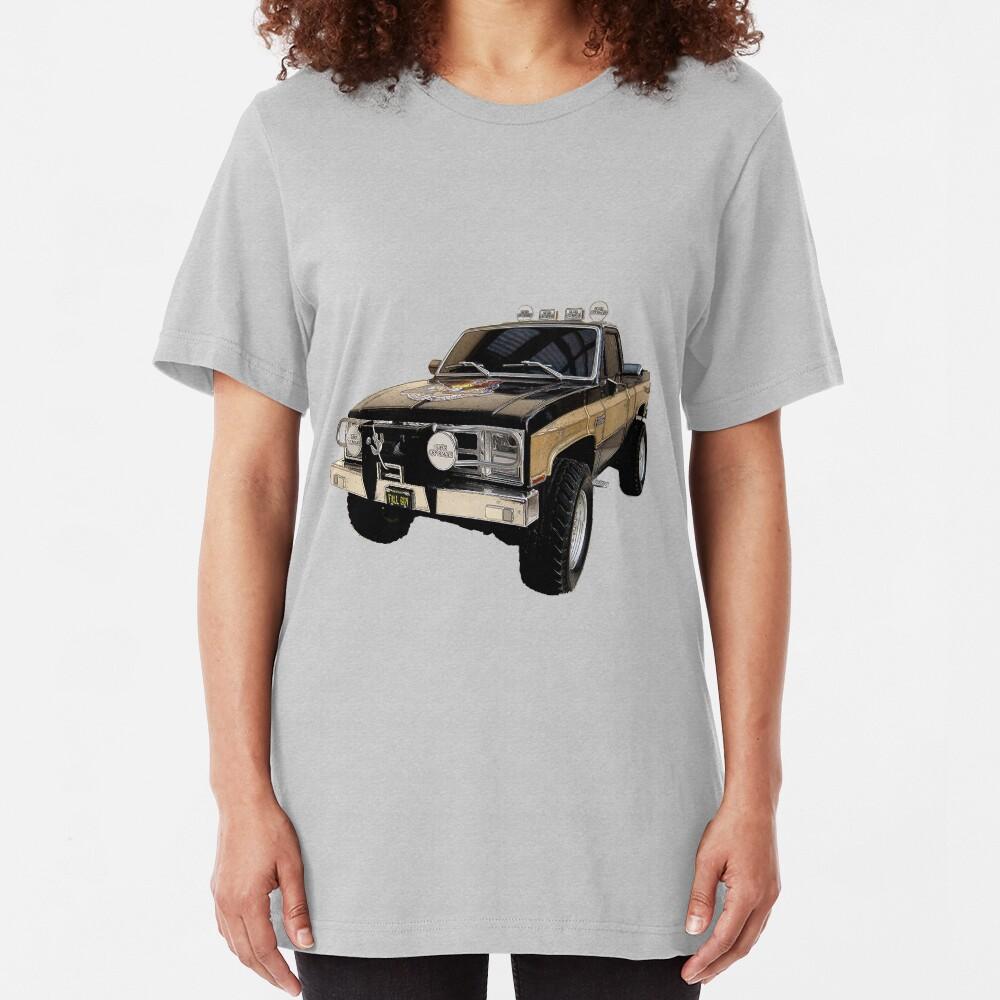 The Fall Guy - GMC Sierra Grande Slim Fit T-Shirt