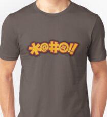 *@#:(!! -- (Fictional Cussing) T-Shirt