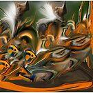 Wild Creatures Inhabiting my Mind by Wayne King