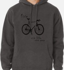 Fixie - one bike one gear Pullover Hoodie