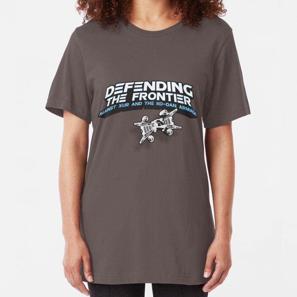 The Last Starfighter Pledge Slim Fit T-Shirt