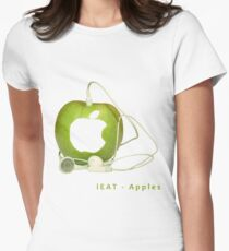 iEat - Apples Fitted T-Shirt