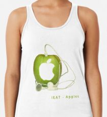 iEat - Apples Racerback Tank Top