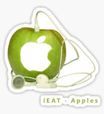 iEat - Apples Sticker