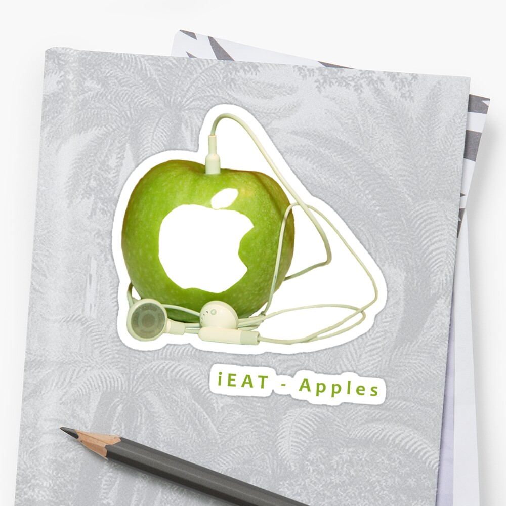 iEat - Apples by Stefan Trenker