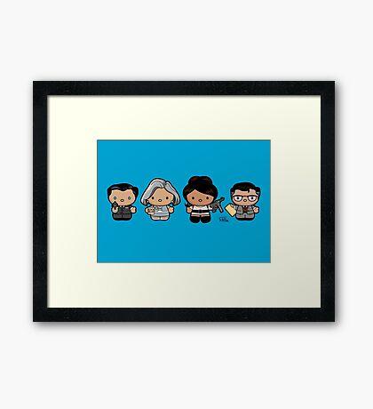 Hello Archer! Framed Print