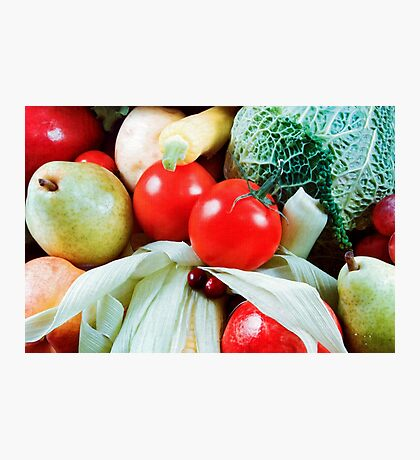 Produce Art Photographic Print