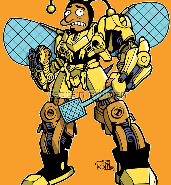 Bumblebee by Captain RibMan