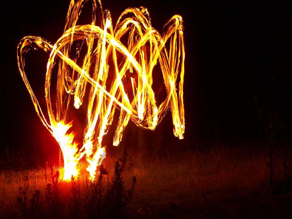 Fire Twurl.  by aperture