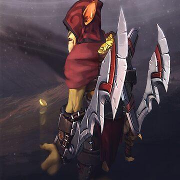 Gondar the Bounty Hunter by Kuvzmin