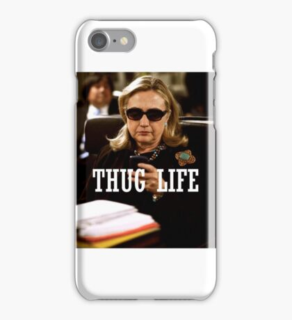 Throwback - Hillary Clinton iPhone Case/Skin