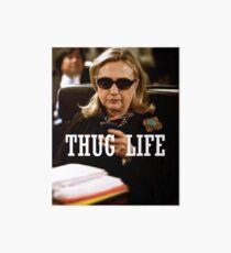 Throwback - Hillary Clinton Art Board