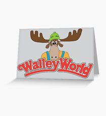 Walley World Greeting Card