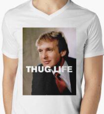 Throwback - Donald Trump Men's V-Neck T-Shirt