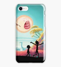 Rick and Morty in No Man's Sky iPhone Case/Skin