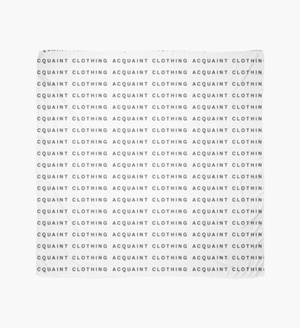 Acquaint Clothing Words - Dark Version Scarf