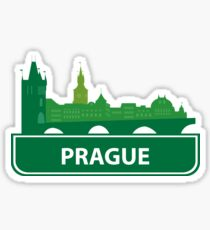 Pegatina Praga
