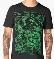 Dharma Stations Blast Door Map (Lost TV show) Men's Premium T-Shirt